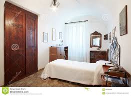 Single Bedroom Old Single Bedroom In Ancient Interior Stock Photo Image 60868948