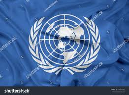 Flags Of Nations Images Waving Flag United Nations Stockillustration 434064583 Shutterstock