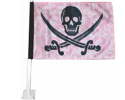 Authentic Pirate Flag Jack Rackham Pirate Flag With Car Mount U2013 Thepiratezone Com