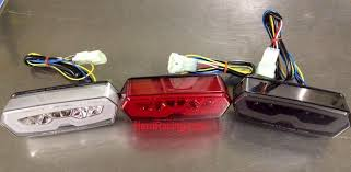competition werkes clear light with integrated turn signals