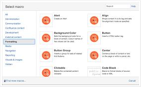 background color content formatting adaptavist documentation