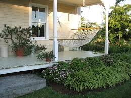 indoor hammock bed porch traditional with flowers grass hammock