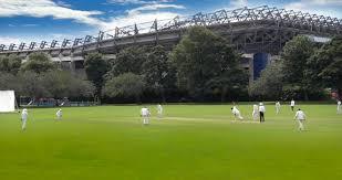 view 10 picturesque scottish cricket grounds news edinburgh