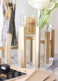 Desk Organizer Lamp Diy Tutorial Raised Wood And Glass Desk Organizer