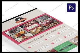 magazine ad template word afternoon tea flyer templates flyer templates creative market
