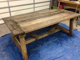 How To Make A Picnic Table Bench Cover by How To Build A Rustic And Bold Farm Table
