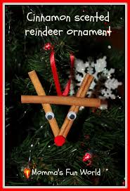 momma u0027s fun world cinnamon stick reindeer ornament christmas