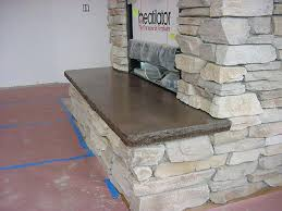 Concrete For Fireplace by Hearth Stones For Fireplaces Concrete Fireplace Hearth Google