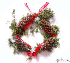 11 incredibly easy diy wreaths for christmas valentine u0027s day and