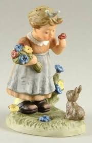 goebel berta hummel figurines baking cookies boxed figurines