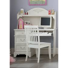 daydreams youth student desk hutch in antique white finish antique