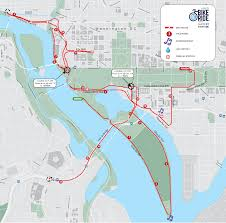 Where Is Washington Dc Located On The Map by 2017 Course Dc Bike Ride