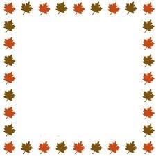 fall border free printable clip borders free thanksgiving