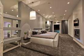 bedroom ultra modern master bedroom with white and brown accent