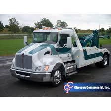 truck wreckers kenworth kenworth t370 px8 315hp w chevron 16 ton boom truck 1016