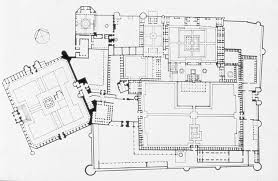 floor plan of mosque floor plan with badshahi mosque archnet