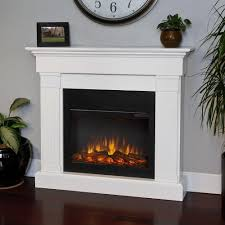 real flame crawford slim series electric fireplace