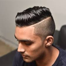 black men comb over hairstyle hard part undercut comb over with great hair comes great