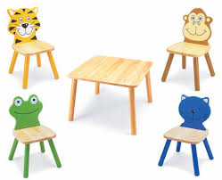 kids animal table and chairs children s wooden painted furniture bedroom furniture guidecraft