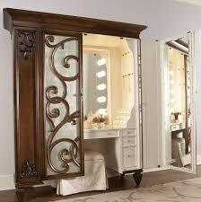Furniture Vanity Table Small Vanity Table With Lighted Mirror Doherty House Create A