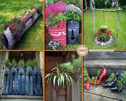 Idea Garden Diy Gardening Ideas With Use Goods Garden Ideas Design