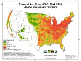 Citrus College Map Emerald Ash Borer Plant Heroes