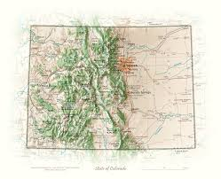 Map Of Missouri State by State Of Missouri Cartographic Art