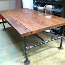 Rustic Industrial Coffee Table Industrial Coffee Table Diy Usavideo Club