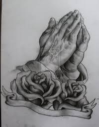 praying with praying with roses on
