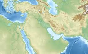 Topographic Map Of The World by File Middle East Topographic Map Blank Svg Wikimedia Commons