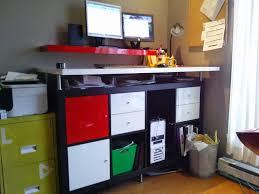 Standing Work Desk Ikea Do It Yourself Ikea Hack Standing Desk Home Design Ideas