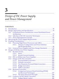 chapter 3 design of dc power supply and power management power