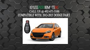 dodge dart change how to replace dodge dart key fob battery 2013 2014 2015