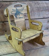 Personalized Toddler Rocking Chair Child U0027s Rocking Chair Puzzle Rocker Chair For Kids