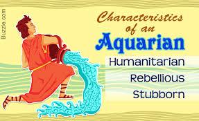 distinguishing characteristics of the zodiac sign aquarius