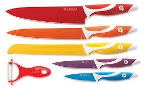 couteau cuisine ceramique set de 5 couteaux inox recouverts de céramique 19 99