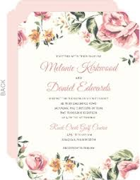floral wedding invitations floral wedding invites