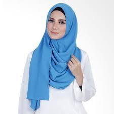 Kerudung Murah jual kerudung murah warna biru tosca terbaru harga murah blibli