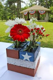 Welcome Home Decorations Front Porch Decorating Ideas For The 4th Of July Bricks Flags