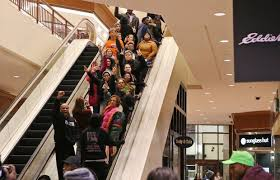 black friday target shoppers ferguson protests interrupt black friday shopping at walmart