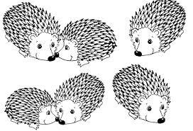 porcupine coloring page qlyview com