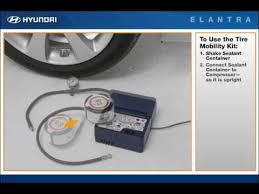 2011 hyundai elantra spare tire 2011 elantra spare tire mobility kit how to