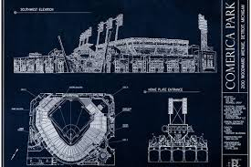 announcing the byb comerica park blueprint art giveaway contest
