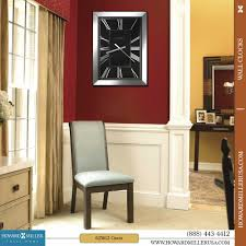 huge wall clocks large wall clocks modern mirrored frame black dial rectangular