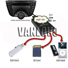 yatour digital music changer aux sd usb mp3 player for honda