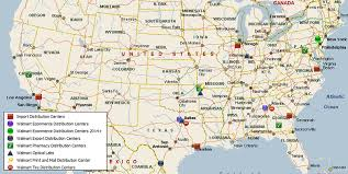 map usa parkway walmart distribution center network usa mwpvl