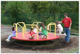 merry go rounds playground equipment for commercial school
