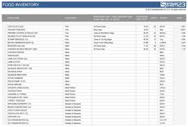stock report template excel food stocktake free template for excel