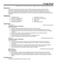 impactful professional computers u0026 technology resume examples