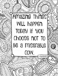 coloring page funny quote coloring sheet inside the lines